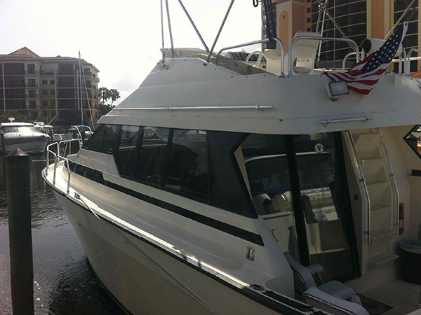 Learn why a professionally installed yacht window tint will last much longer than one installed as a DIY. Leaving it to the experts is your best option.